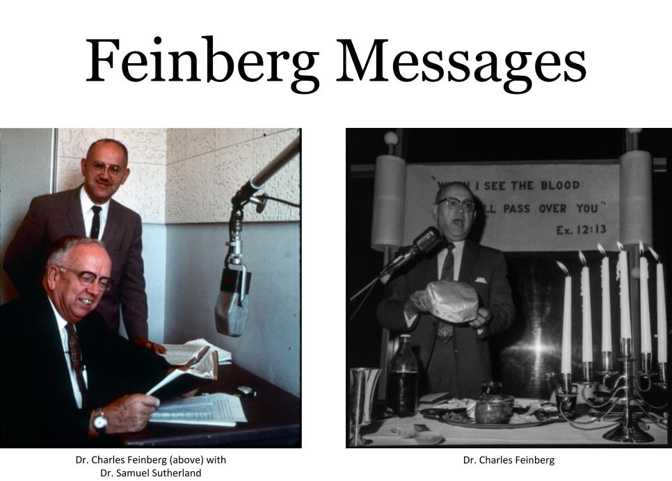 Feinberg Messages