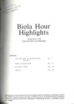 Biola Hour Highlights, 1976 - 08