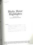 Biola Hour Highlights, 1976 - 09