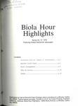 Biola Hour Highlights, 1976 - 10 by Samuel H. Sutherland, Ron Hafer, J. Richard Chase, Charles Lee Feinberg, and Robert Morosco