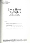 Biola Hour Highlights, 1976 - 11
