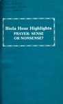 Biola Hour Highlights, 1977 - 09
