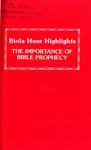 Biola Hour Highlights, 1977 - 10 by Lehman Strauss