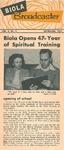 Biola Broadcaster, September 1954