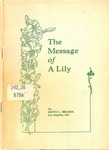 Message of a Lily