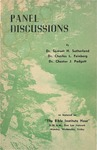 Panel Discussions by Samuel H. Sutherland, Charles Lee Feinberg, and Chester J. Padgett