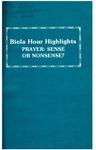 Biola Hour Highlights, 1977 - 09
