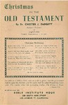 Christmas in the Old Testament by Chester J. Padgett