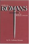 Studies in Romans: Bk. 3