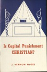 Is Capital Punishment Christian