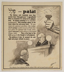 "palal: The Hebrew verb translated more than seventy times ""to pray"" is palal"
