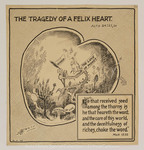 Tragedy Of Felix Heart.-Acts 24:25-26