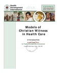 Models of Christian Witness in Health Care
