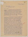 1909-08-06, Letter from Frank Keller to Ralph Smith by Frank A. Keller