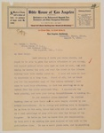 1909-08-07, Letter from Frank Keller to Ralph Smith by Frank A. Keller