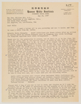 1947-05-16, Letter from Charles Roberts to William Orr by Charles Roberts