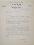 1926-12-30, Letter from Frank Keller to Chester Rutledge by Frank A. Keller