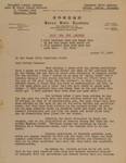 1927-08-17, Letter from Frank Keller to HBI Staff