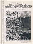 King's Business, April-May 1933