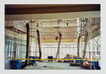 Working on the reading room mezzanine by Library