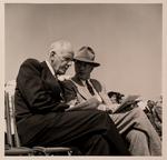 Talbot and Myers at La Mirada Groundbreaking