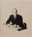 Drawing of Louis Talbot