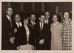 Talbot and Group in Lansing Auditorium