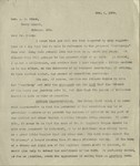 "1909-11-01, Letter from Lyman Stewart to A.C. Dixon regarding ""Testimony"" by Lyman Stewart"