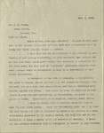 1910-01-08, Letter from Lyman Stewart to A.C. Dixon commenting on contributors by Lyman Stewart