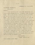 1910-03-28, Letter from Richard E. Day to the Testimony Publishing Company expressing customer satisfaction with first volume