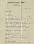 1910-04-05, Letter from A.C. Dixon to Lyman Stewart discussing 2nd volume content by A. C. Dixon