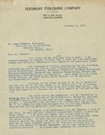 1910-10-11, Letter from Thomas Stephens to Lyman Stewart regarding circulation by Thomas E. Stephens