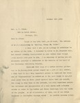 1910-10-26, Letter from Lyman Stewart to A.C. Dixon by Lyman Stewart