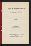 The Fundamentals : a testimony to the truth Vol. 4