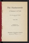 The Fundamentals : a testimony to the truth Vol. 8