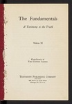 The Fundamentals : a testimony to the truth Vol. 11