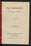 The Fundamentals : a testimony to the truth Vol. 12