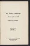 The Fundamentals : a testimony to the Truth (1917) Vo. 4 by Philip Mauro, David James Burrell, A. W. Pitzer, H. M. Sydenstricker, Henry H. Beach, George Fredrick Wright, Charles R. Erdman, William G. Moorehead, R. G. McNiece, Maurice E. Wilson, Algernon J. Pollock, Jessie Penn-Lewis, Daniel Hoffman Martin, E. J. Stobo, Arthur T. Pierson, A. C. Dixon, George F. Pentecost, John McNicol, E. Y. Mullins, Howard A. Kelly, H. W. Webb-Peploe, and Charles T. Studd